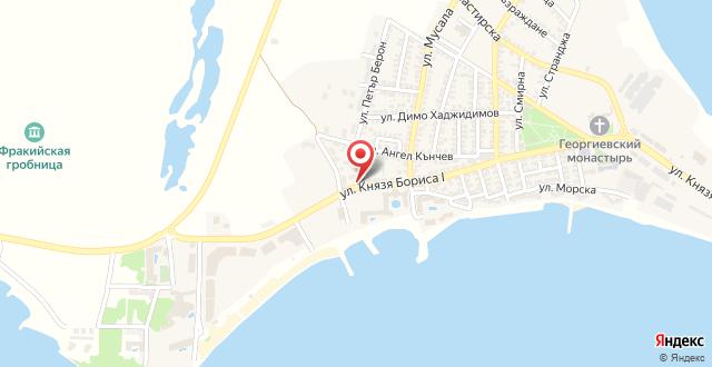 Отель Вива Бийч на карте