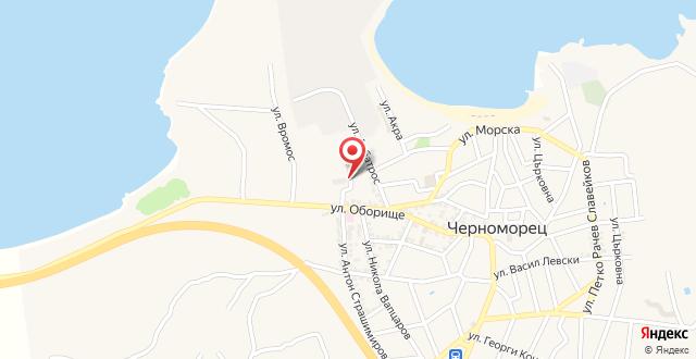 Golden Fish Apartments на карте
