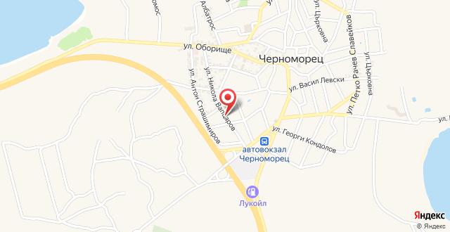 Guest House Afrodita на карте