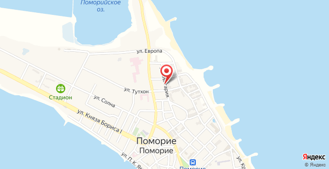 Inter Holiday Apartments Pomorie на карте