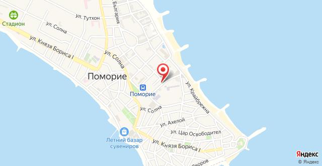 Apartment Yonina на карте