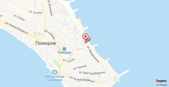 Sunny Bay Beach Hotel на карте