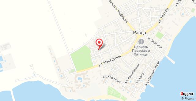 Radina Family Hotel на карте