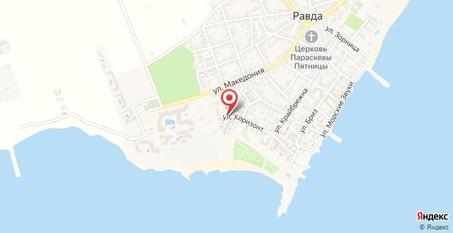Black Sea View Apartments на карте