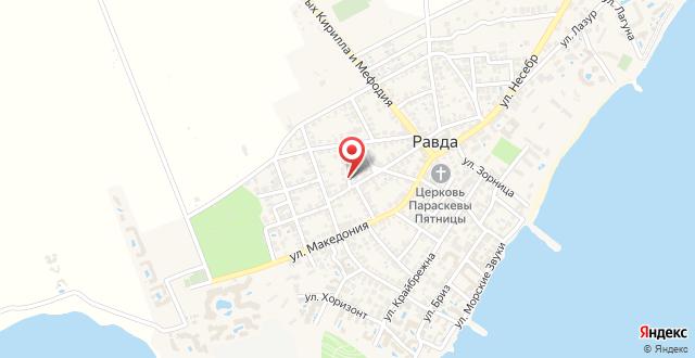 Guest House Markovi на карте
