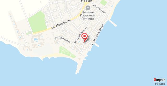 Villa Ravda на карте