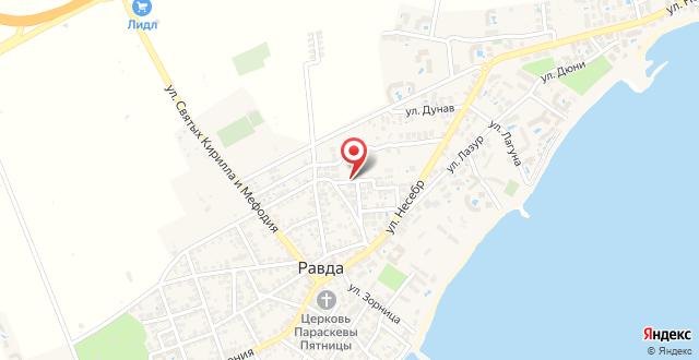 Vlasta Family Hotel на карте