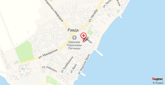 Guest house Tangra на карте
