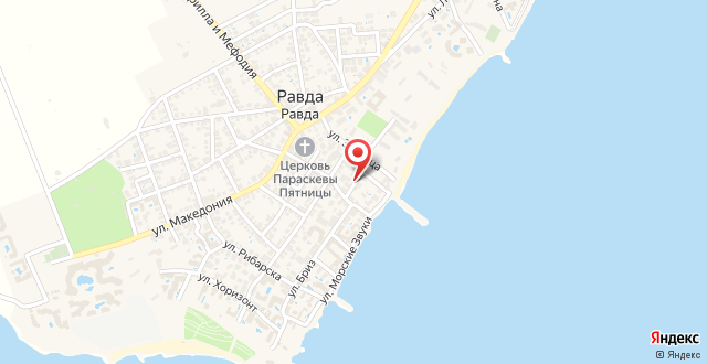 Apartment Sirena на карте