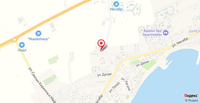 Sunrise Club Apart Hotel на карте