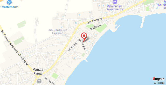 Apartments Oasis на карте