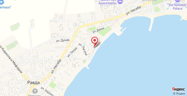 ApartHotel Bellevue на карте
