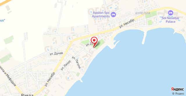 Olympia Beach Complex на карте