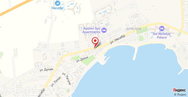 Copacabana Hotel на карте