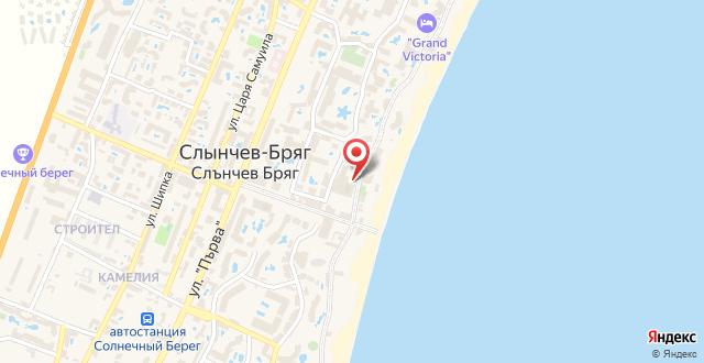 Курортный отель Globus - Halfboard на карте