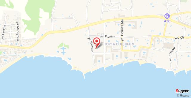 Apartment Sea Shore на карте