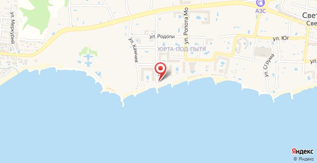 Hotel Fantasy Beach на карте