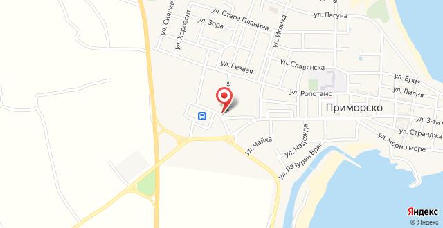 Hotel Vivas на карте