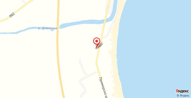 Golden Dunes Primorsko Apartments на карте