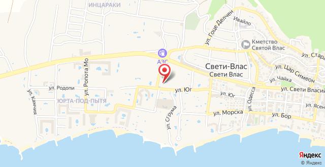 Anthony Apartments на карте