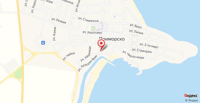Apartment Yujny Plyazh на карте