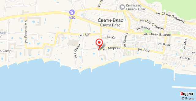 Sineva Del Sol Apartments на карте