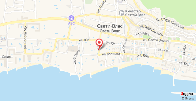 Family Hotel Venera на карте