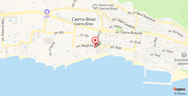 Hotel Berlin Beach на карте
