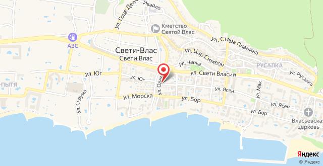 Marina Park one-bedroom apartment Saint Vlas на карте