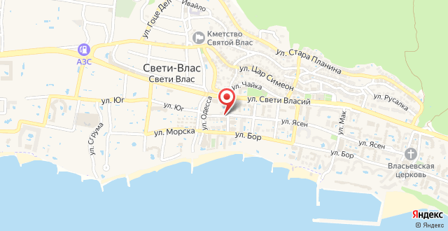 GT Caprice Apartments на карте