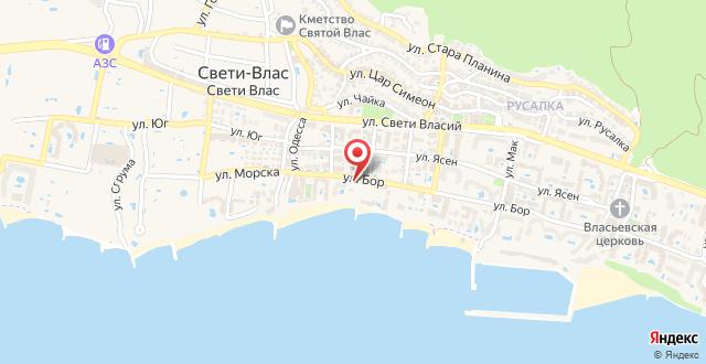 Iris Hotel на карте