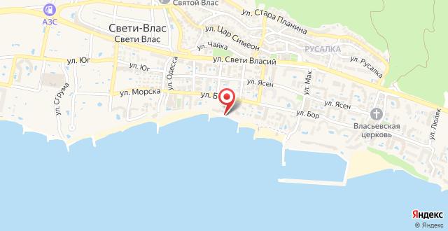 Aqua Dreams Studio Apartment на карте