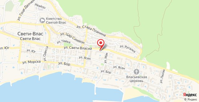 Dom-El Real Apartments 3 - Sveti Vlas на карте