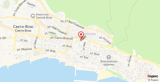 Отель Мельница на карте
