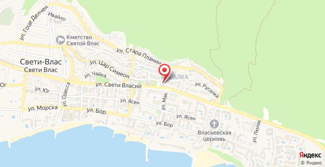 Yanis Guest House на карте