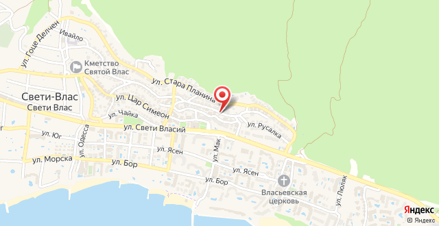 Elina Apartments Sveti Vlas на карте