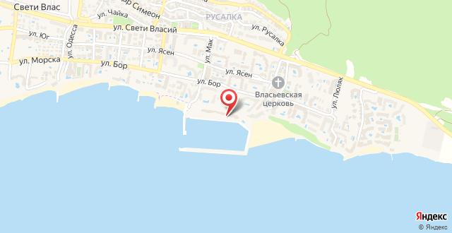 Hotel Palace Marina Dinevi на карте