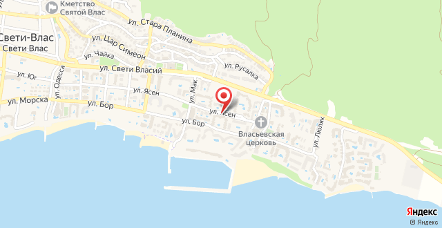 Гостиничный Комплекс Лазур на карте