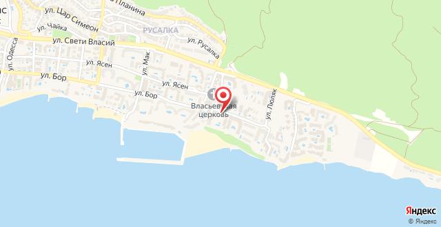 Hotel Manastira на карте