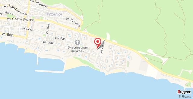 Irina Apartments на карте