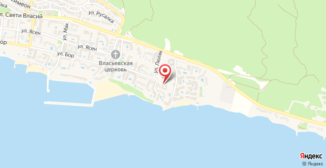 PSB Apartments in Galateya на карте