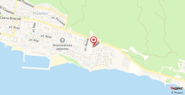 Apartment St.Vlas на карте