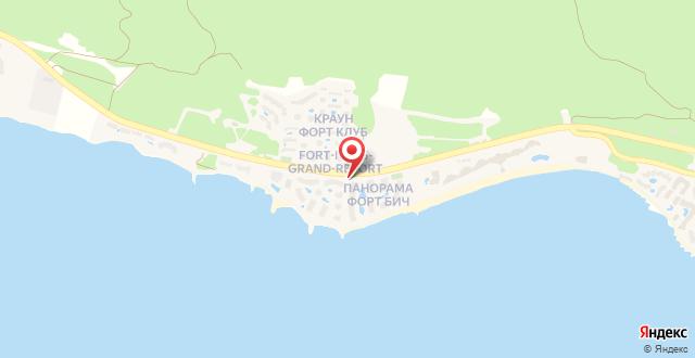 Panorama & Marina Freya Resort на карте