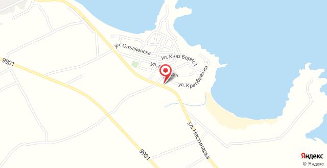 Hotel Mimosa на карте