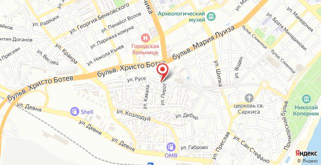 Yo Ho Hostel на карте