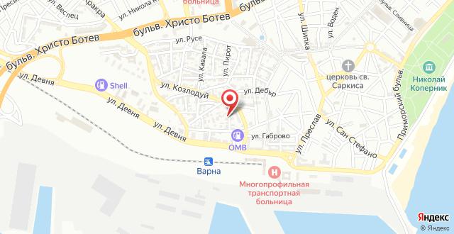 Dionis Hotel на карте
