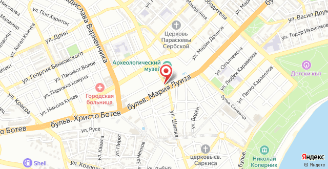 Paris Varna Apartment на карте