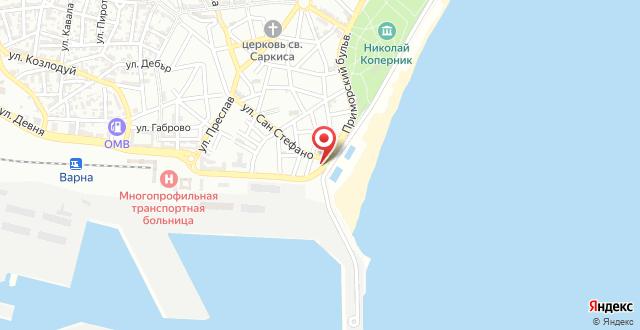 Panorama Hotel на карте