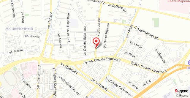 Отель Sorbona на карте