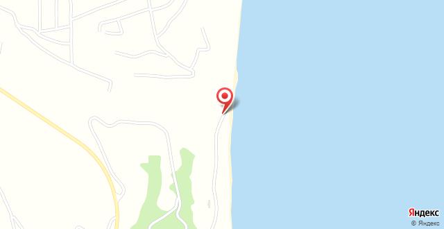 Albizia Beach Hotel на карте